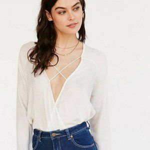 Urban Outfitters Silence + Noise Mayfair Top
